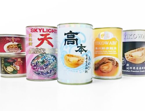 YF Canned Abalone & Topshell Series