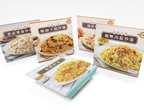 CircleK Brand Food Packaging